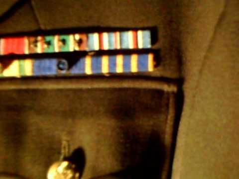 WW2 Lt. Col. SHAEF officers uniform