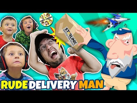 GRUMPY OLD MAILMAN gives FGTEEV Boys SPACESHIPS! 🚀 New Game comes to Life!
