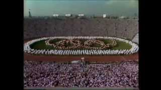 Los Angeles 1984 Olympic Opening Ceremony   Complete