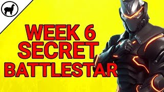 Semaine 6 Secret Battlestar Emplacement (fr) Défi Blockbuster (fr) Fortnite Battle Royale Saison 4 Semaine 6
