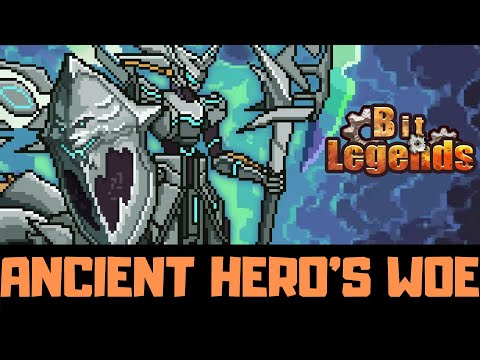 Bit Legends - Ancient Hero's Woe - Transcendent Weapon In GB5 - Attack 1