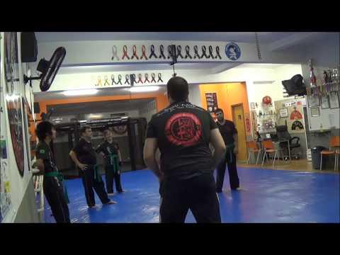 Krav Maga Osasco treino 10 02 15 Monitores com sensei Wilson Cruz