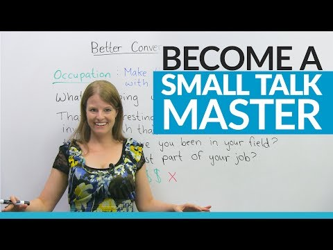 small talk examples video