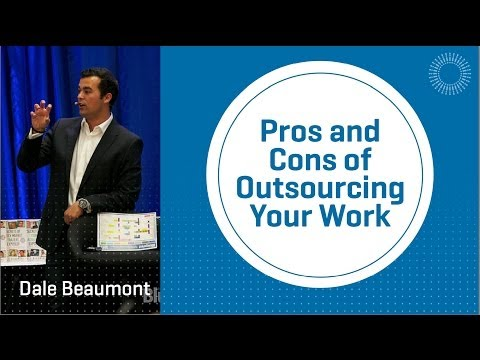Pros and Cons of Outsourcing Your Work