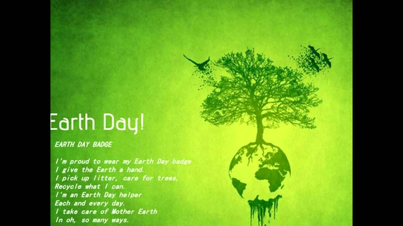 Earth Day Poems - YouTube