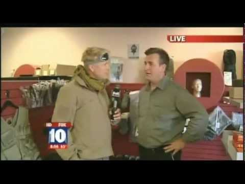 Tim Ralston of National Geographic 's Doomsday Preppers on Fox 10 , Phoenix - Full Segments