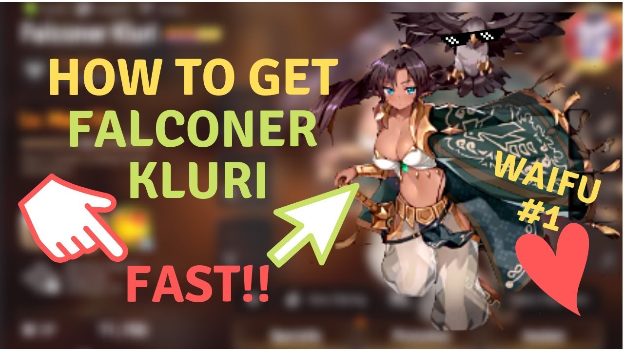 Epic Seven How To Get Falconer Kluri Guide Fast Easy Youtube
