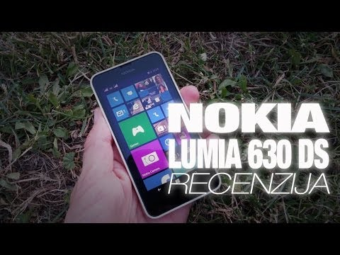 Nokia Lumia 630 Video Recenzija