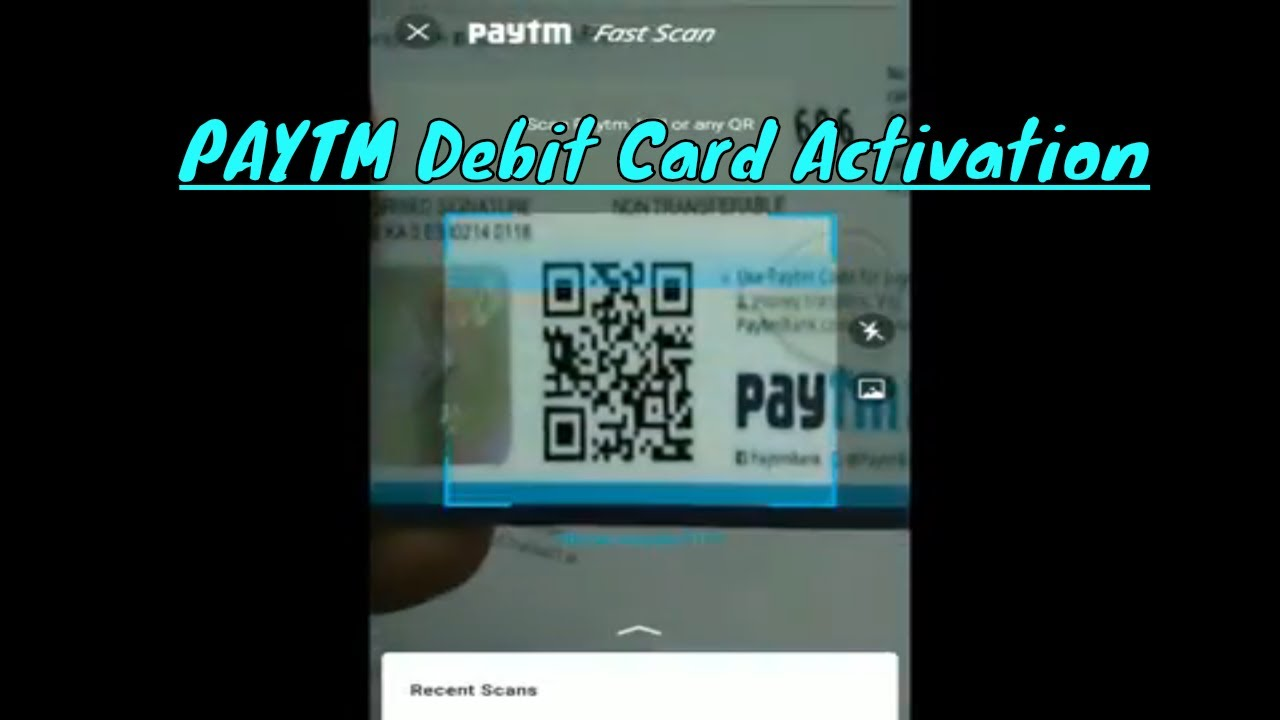 HOW to Activate PAYTM Debit Card ? || PAYTM Debit Card Activation Step By Step