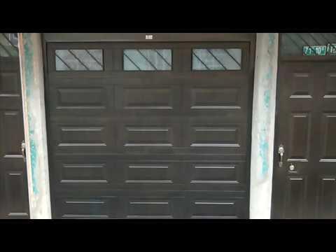 Puerta de Garaje Electrica Exterior Bogota Colombia