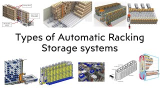 Warehouse Storage Solution   Racking   Types of Automatic Racking storage system