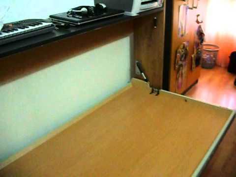Cama abatible murphy youtube - Mecanismo para camas abatibles ...
