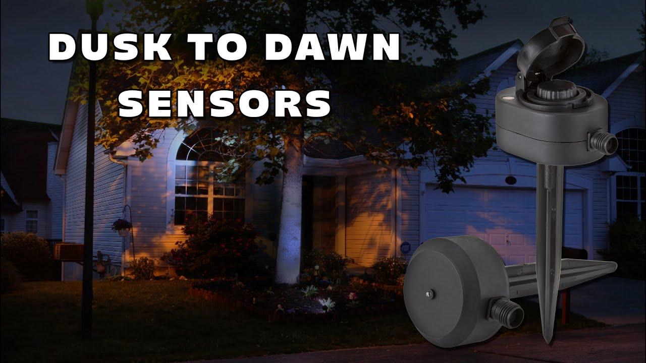 Dusk Till Dawn Sensor Led Landscape Lighting