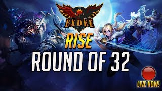 ExDee's AOV Tournament- RISE   Round of 32 - Day 3