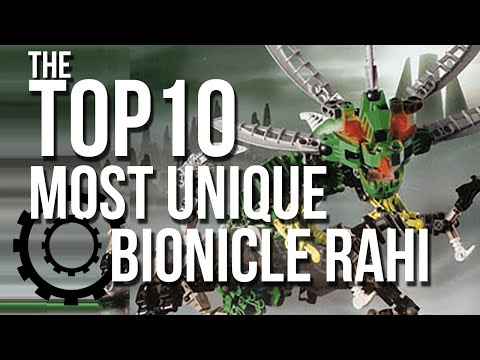 The Top 10 Most Unique BIONICLE Rahi