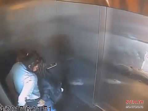 Security Guard Doesn't Catch Drug Users in Elevator
