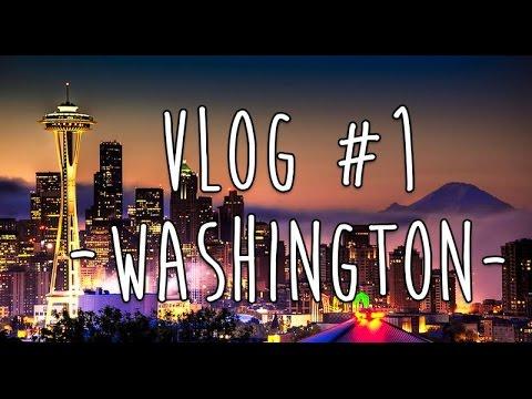 Vlog#1: WASHINGTON AMERİKA'YA Seyahatım | My TRIP To WASHINGTON