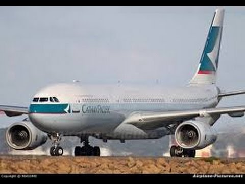 Cathay Pacific Business Class - New Delhi to Hong Kong (CX 698) - Airbus A330-300