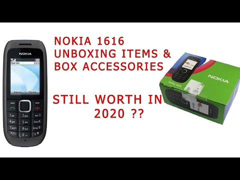 Nokia 1616 Review and Unboxing