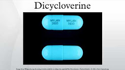 Dicycloverine