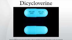 Dicycloverine