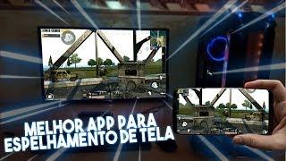 A MELHOR FORMA DE GRAVAR GAMEPLAYS E ESPELHAR A TELA DO ANDROID NO PC SEM LAG