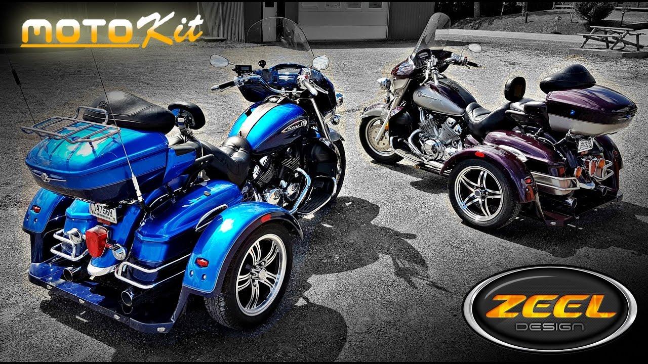Yamaha V Star/Venture Trike Kit Motokit ZEEL DESIGN