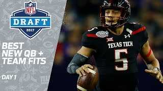 Best First Round QB Fits | 2017 NFL Draft | Path to the Draft | NFL Network Free HD Video