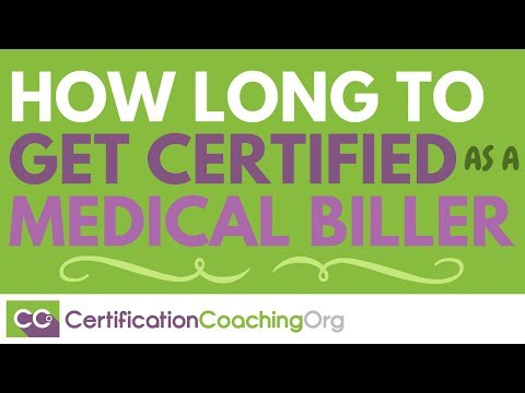 How Long Does It Take to Get Certified as a Medical Biller