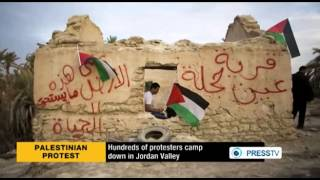 Palestinians camp down for resettlement in Ein Hijleh