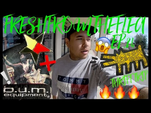 THRIFT TRIP EP.84 TOMMY!MICHAEL JORDAN!KEITH HARING!