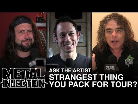 ASK THE ARTIST: Strangest Thing You Pack For Tour? | Metal Injection