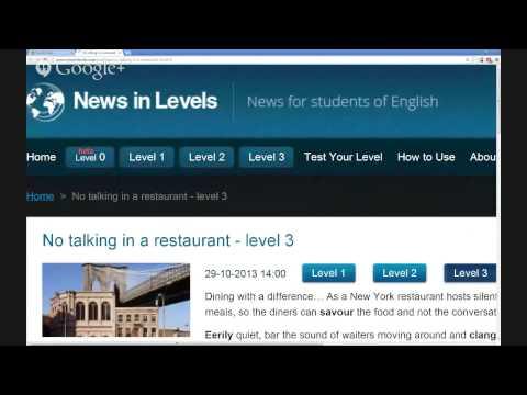 News & Politics (No talking in a restaurant)