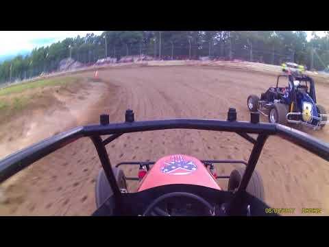 Deerfield Raceway Nathaniel '01' 8 5 17 jr sprint