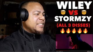 WILEY vs STORMZY (All 3 Disses) | REACTION!!!