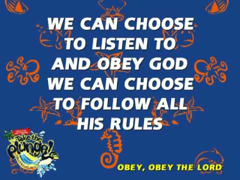 Obey, Obey The Lord
