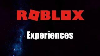Roblox Esperienze Intro