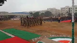 Republic day Ncc marchfast