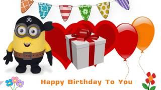 Happy Birthday Songs Martie Minion
