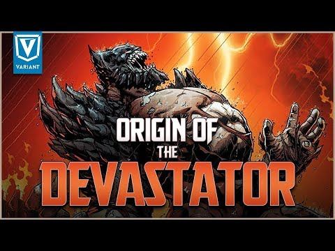 Origin Of The Devastator! (Batman As Doomsday)
