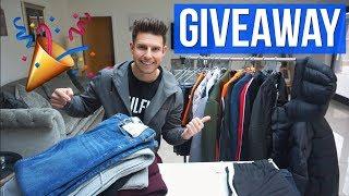 HUGE MEN'S CLOTHING GIVEAWAY (Asos, FashionNova, Nuevo Club, H&M + More)