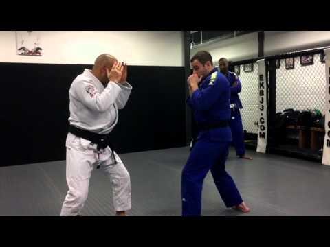 Eddie Kone Academy - Basic Striking concepts for Gracie Jiu-Jitsu
