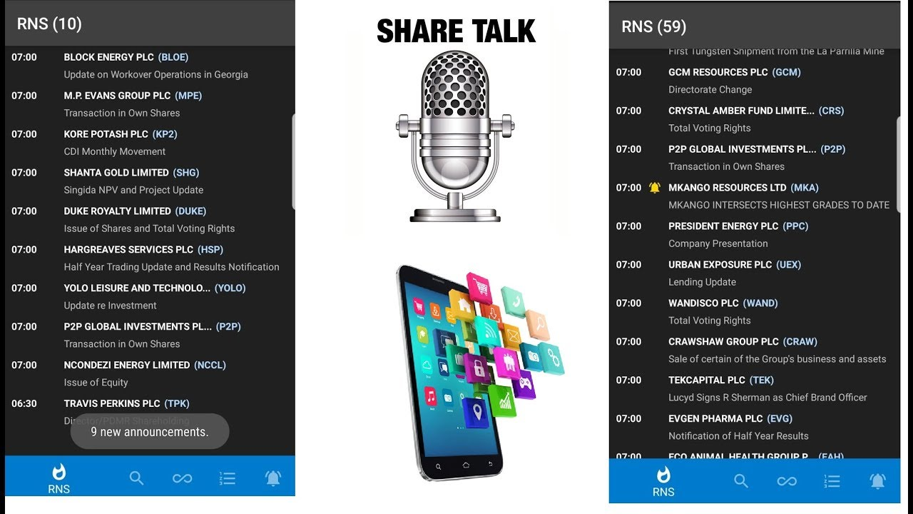 Share Talk Mobile Android App is available in Google AppStore