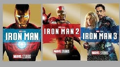 How to download marvel iron man 2008, iron man2, Iron Man 3  in Hindi +english via a single link
