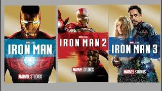 How to download marvel iron man 2008, iron man2, Iron Man 3  in Hindi +english via a single link