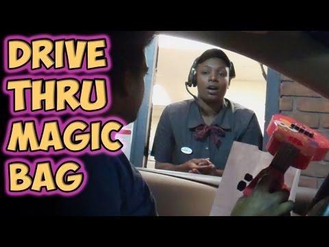 Drive Thru Magic Bag