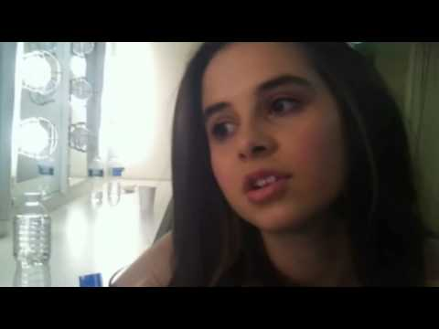 Carly Rose Sonenclar at Gannett Front backstage interview