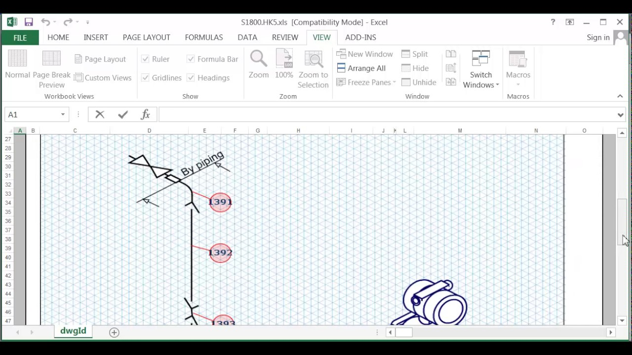 Crenger: How to export the instrument hook-up drawings