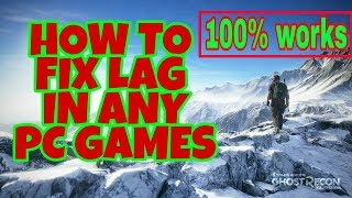How to fix lag in any pc games {without any app}2017 new tricks 10000000% works