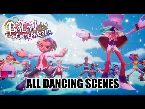 Balan Wonderworld All Dancing Scenes